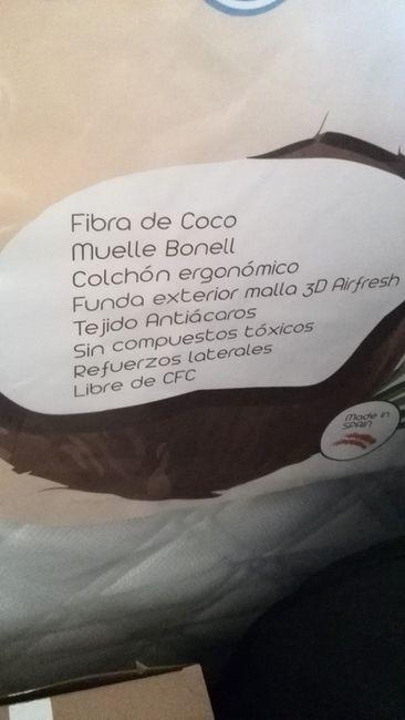 Colchón muelles y fibra de coco