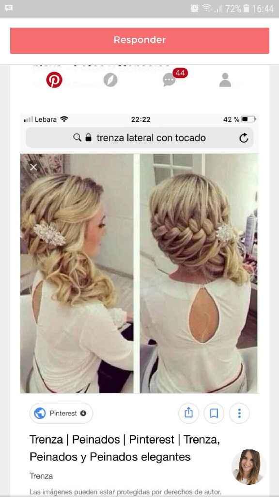 Peinado novia - 2