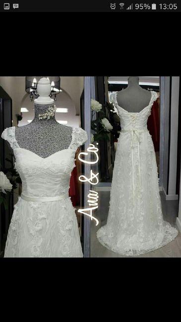 Vestido fiesta blanco ( boda civil) tenerife 1