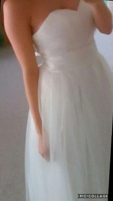 Bolero traje novia escote corazón - 1