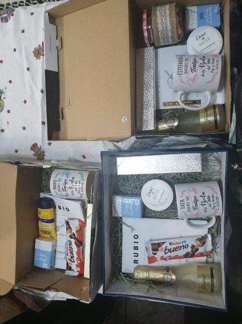 Mis cajas de testigos!!! 😍 - 1