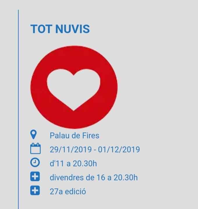 Tot Nuvis, feria de boda en Girona - 1