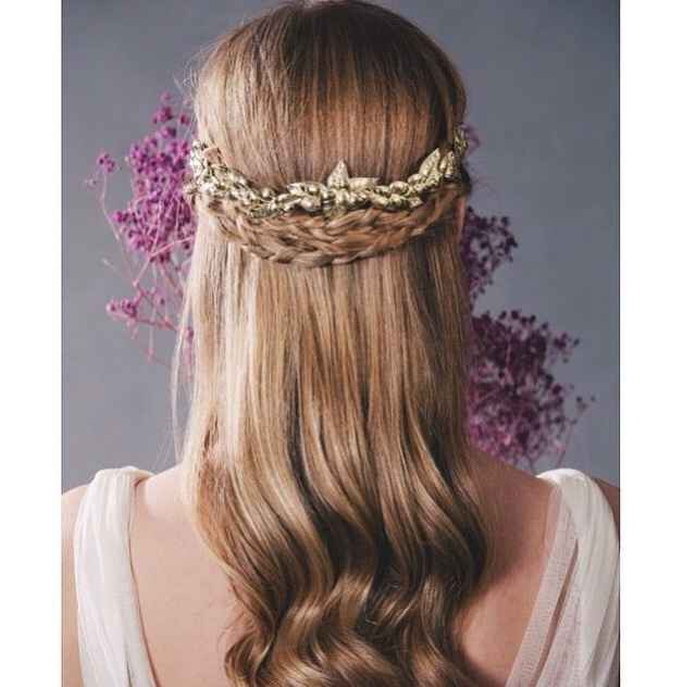 Reina por un día: elige tu peinado de novia preferido! - 3