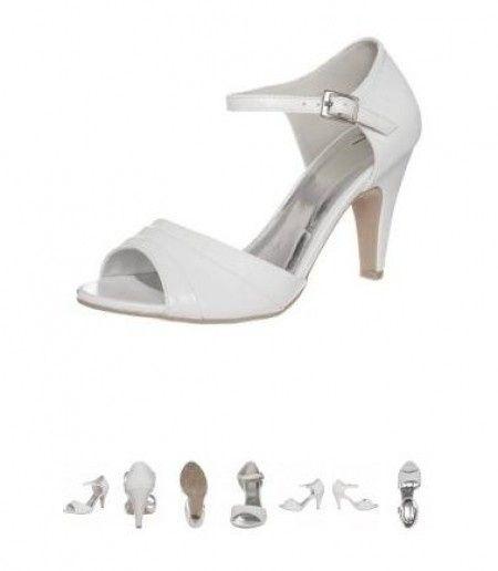 recopilatorio zapatos color blanco zalando - moda nupcial - foro