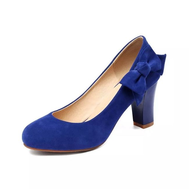 Zapatos de novia de color 1