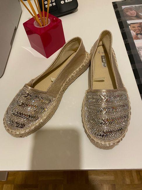 Mis zapatos de novia. - 2
