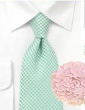 Decoración de boda rosa y verde menta - Boda elegante y alegre 15