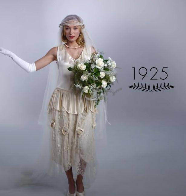 100 años en vestidos de novia + ¡surprise! 4