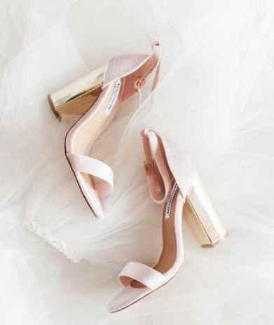 Decoración de boda rosa y Dorado- Boda rústica - 1