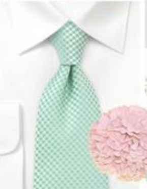 Decoración de boda rosa y verde Menta- Boda elegante y alegre - 4