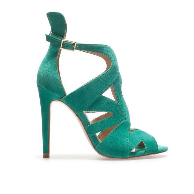 zapatos de novia verde - moda nupcial - foro bodas