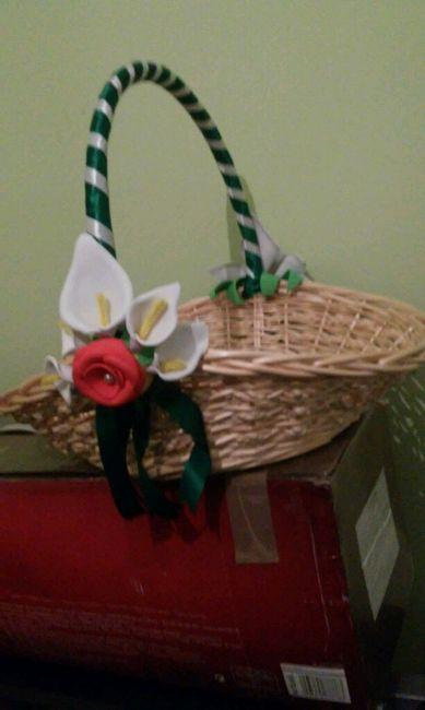 C mo decorar cestas de mimbres manualidades foro - Como adornar una cesta de mimbre ...