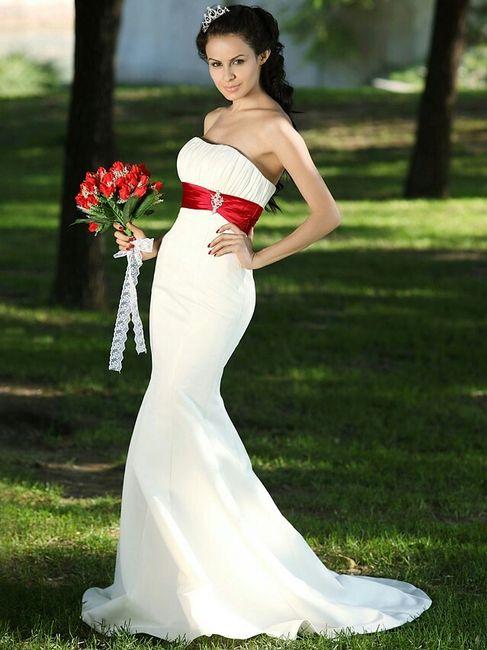 la novia de color- rojo - foro bodas