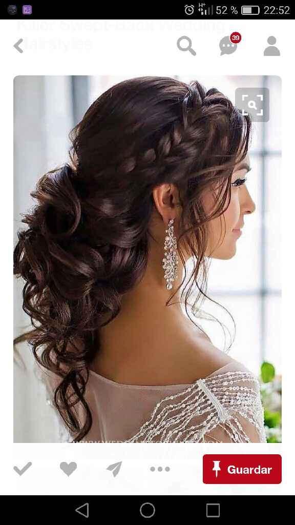 Peinados pelo largo - 4