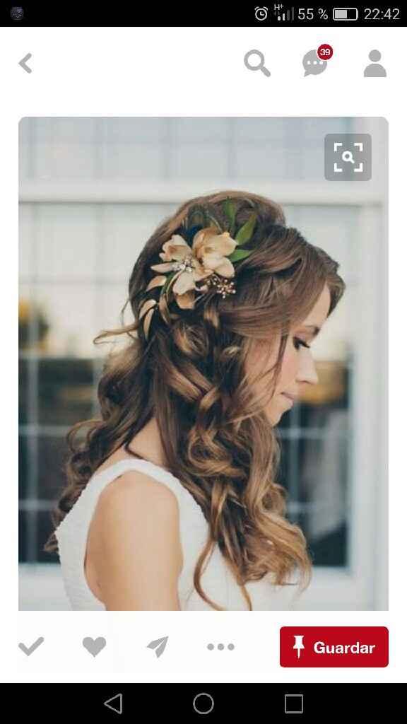 Peinados pelo largo - 6