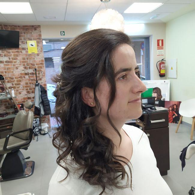 Prueba de peinado  hecha!🥰 - 3