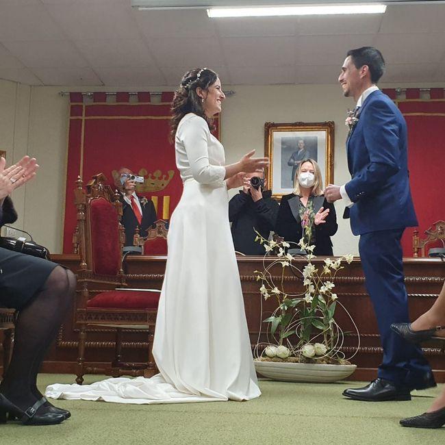 Ya estamos casados 😀🥰🥰🥰🥰 5