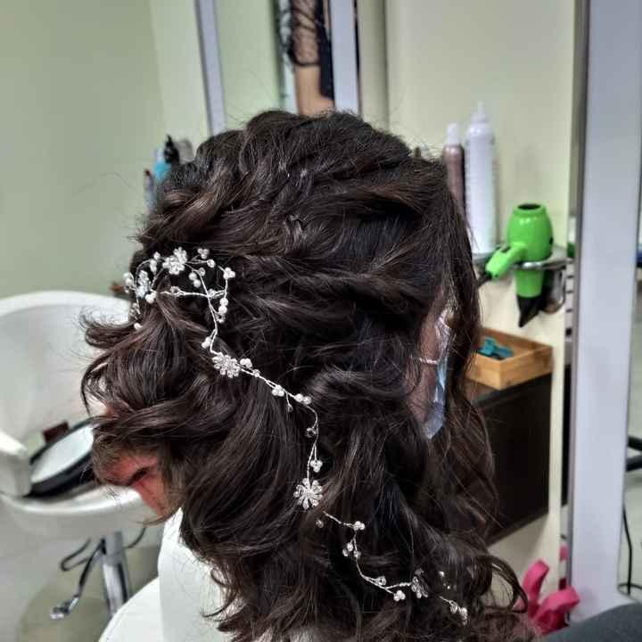Prueba de peinado  hecha!🥰 - 4