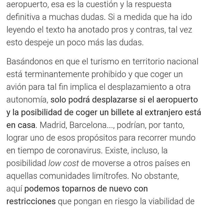Cancelar el viaje a Canarias por cierre perimetral a 15 días del viaje - 1