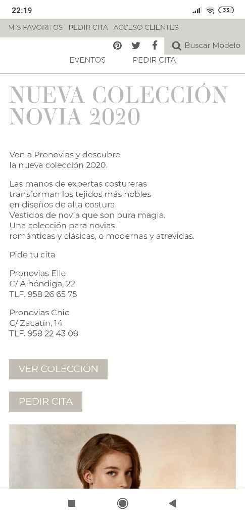 Precios vestidos Pronovias - 1