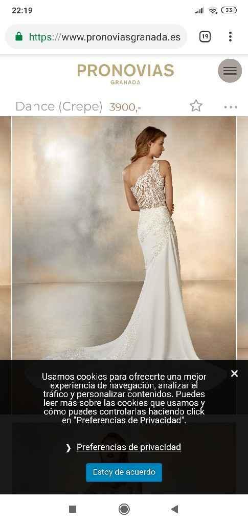 Precios vestidos Pronovias - 2