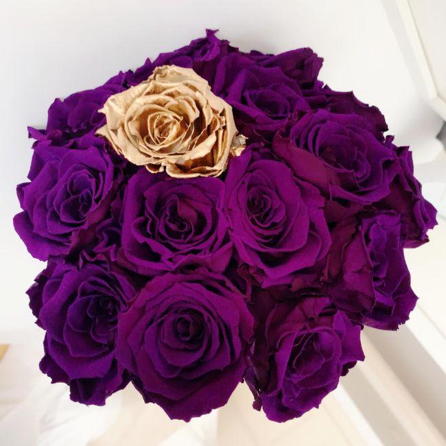 Siempre con ilusión, llegan las flores 😊 🌹 2