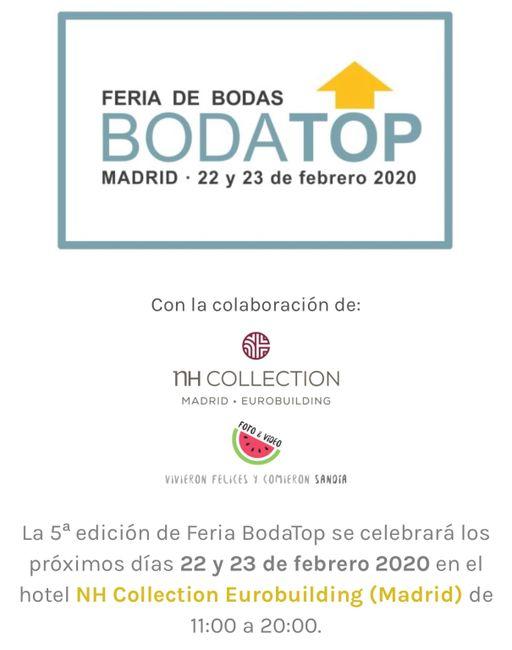 Ferias de boda 2020 Madrid 1
