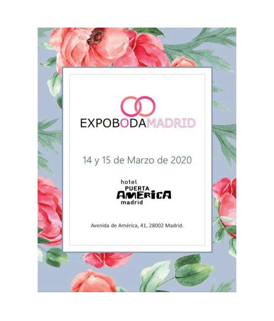 Ferias de boda 2020 Madrid 2