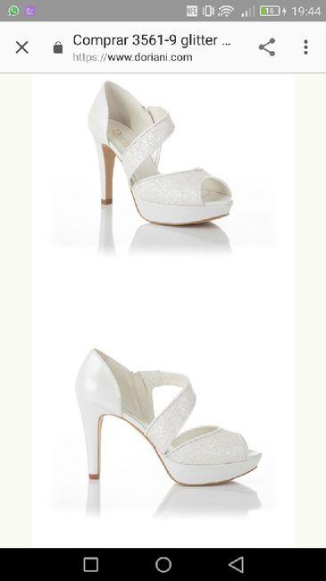 Nuestros zapatos de novia - 1
