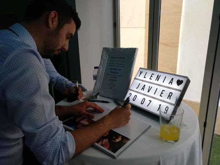 Libro de firmas - 2