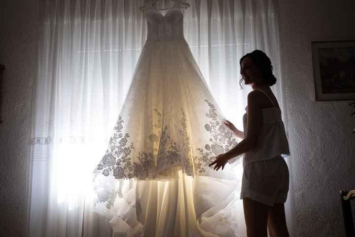 Vestido de novia y tiempo - 1