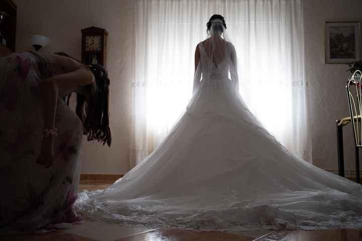 Vestido de novia y tiempo - 2