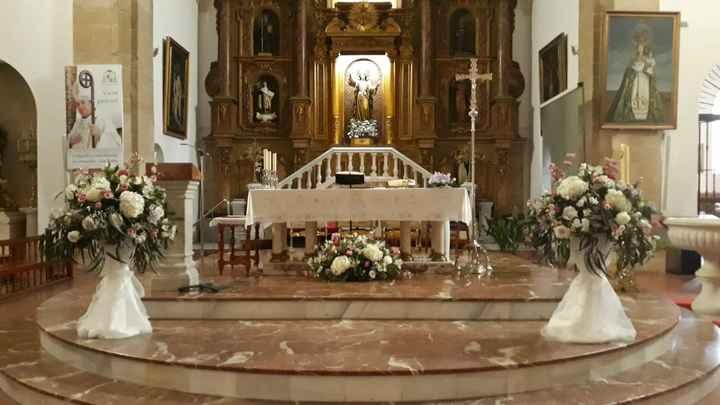 Decoración Iglesia. - 1