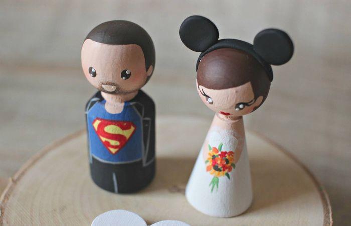 Muñecos personalizados tarta - 1