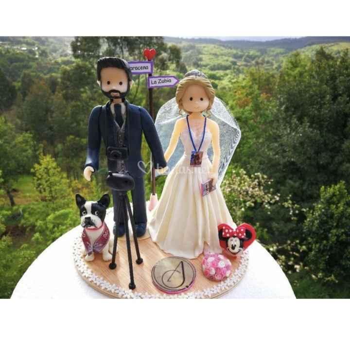 Muñecos de novios para tarta personalizados - 1