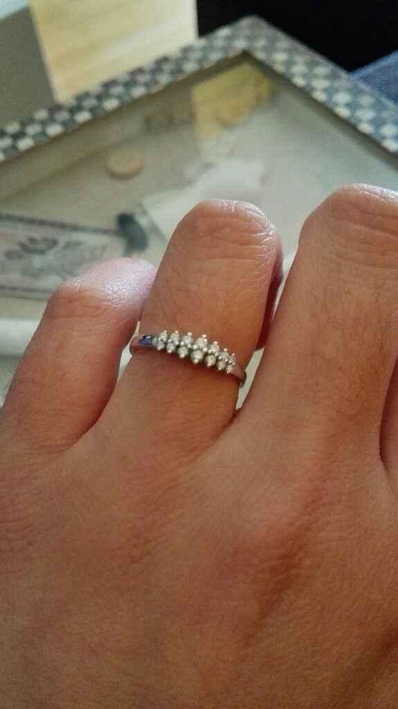 ¿Seguirás llevando el anillo de pedida después de casada? - 1