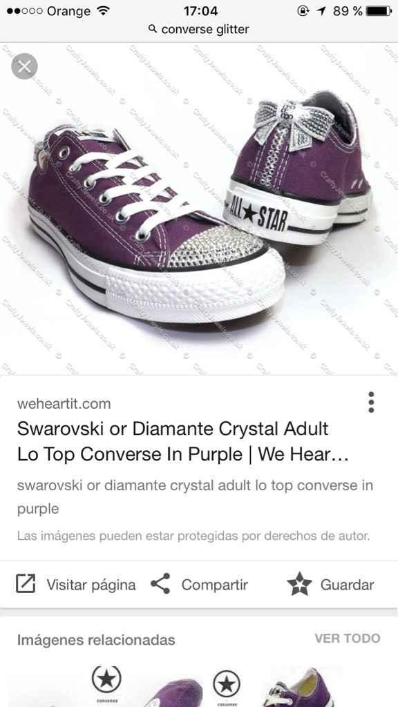 Alguien sabe de zapatillas así? - 1
