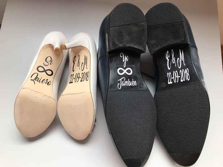 Adornareis los zapatos? - 1
