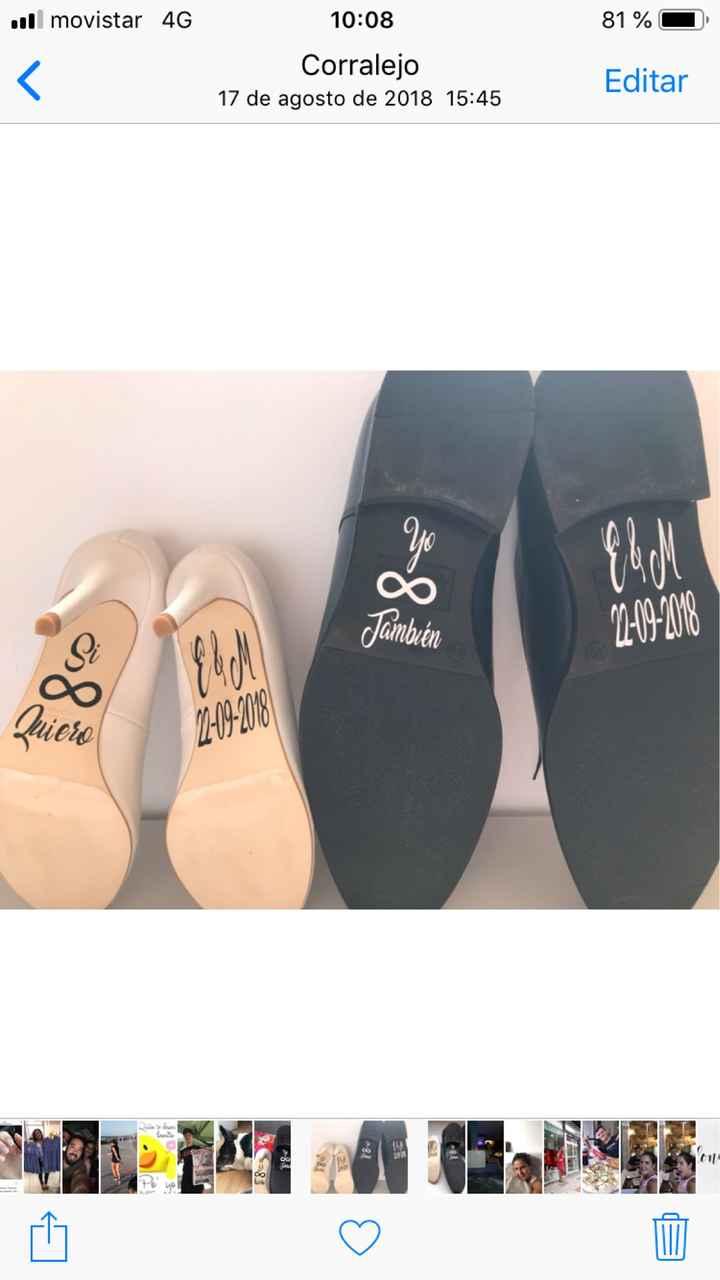 Frase para zapatos novio🤵🏻 - 1