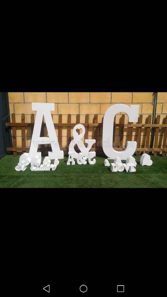 Ya tengo mis letras!!!! - 1