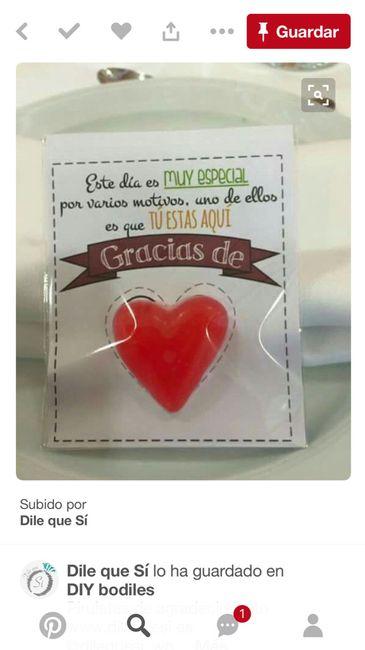 Plantillas agradecimiento corazón chuche - 1