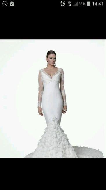 Precio vestido - 1