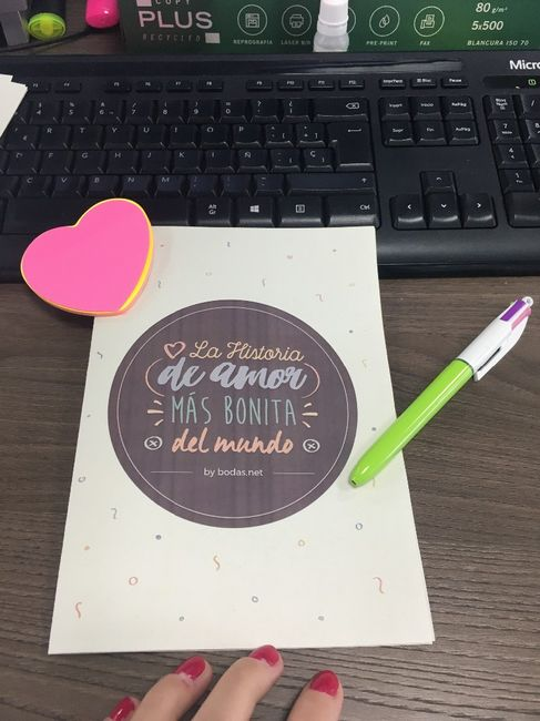 Ideas para el libro de tu historia de amor 1