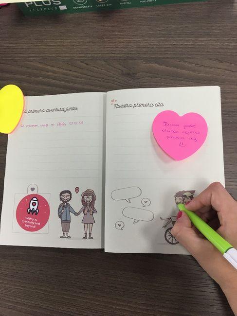 Ideas para el libro de tu historia de amor 2