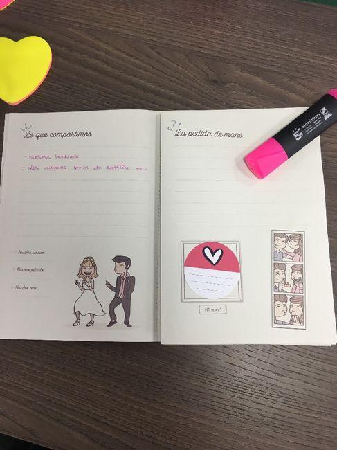 Ideas para el libro de tu historia de amor 3