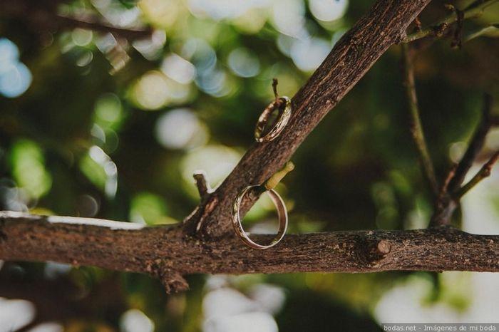 Dinos... ¡El material de tus alianzas de boda! 1