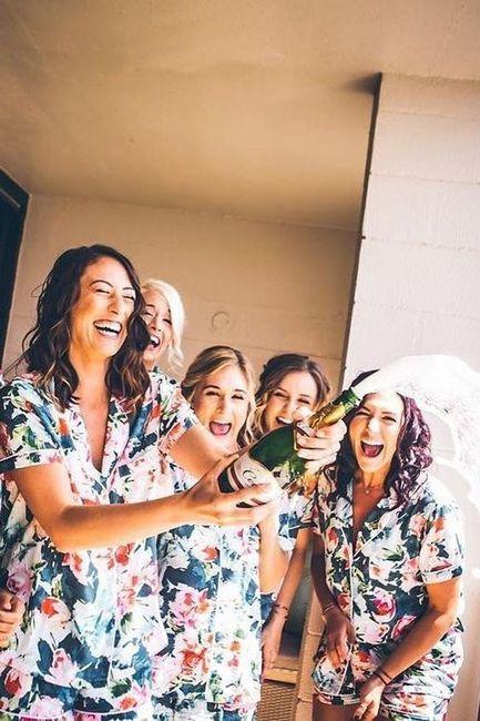 La mejor foto de boda: ¡las DAMAS DE HONOR! 1