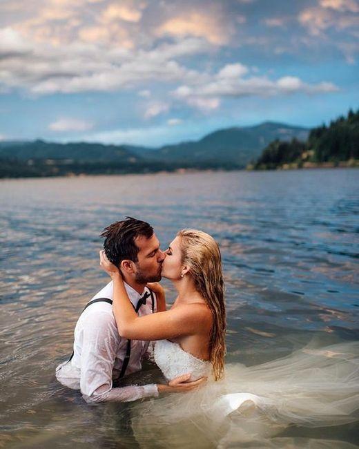 La mejor foto de boda: ¡el TRASH THE DRESS! 2