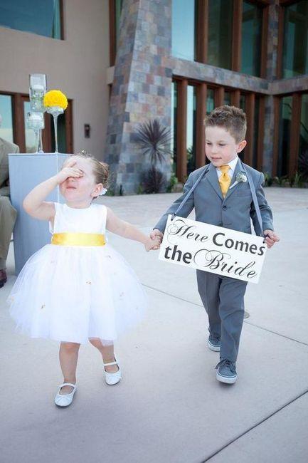 La mejor foto de boda: ¡los PAJECITOS! 1