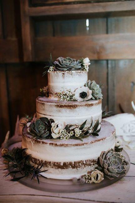 Naked cake: ¿SÍ o NO? 1